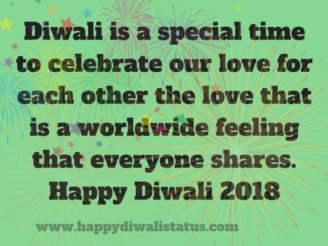 Wish You Happy & Prosperous Diwali Quotes in English 2018