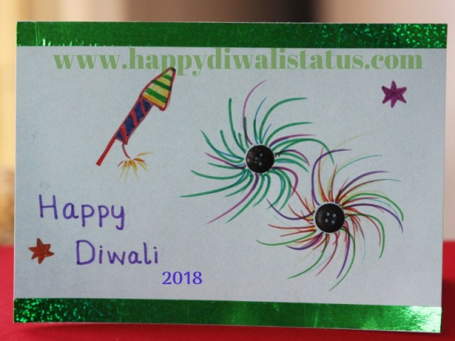 Handmade Diwali festival with Gifts to friends and relatives also wishes