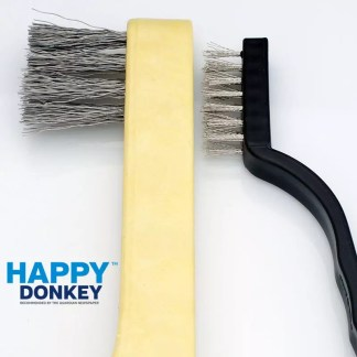 Image displaying grinder blade cleaning brush and long wired version.