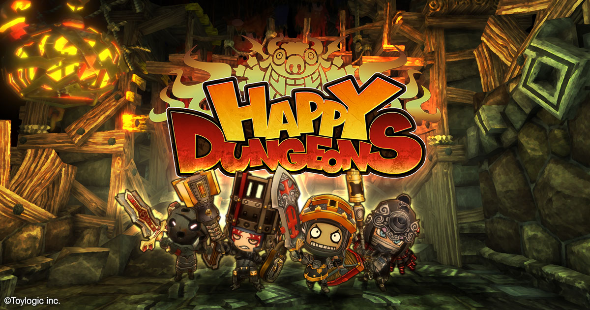 Happy Dungeons Official Site Multiplayer Action RPG For