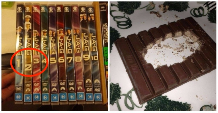 18 Photos That Will Trigger Your OCD