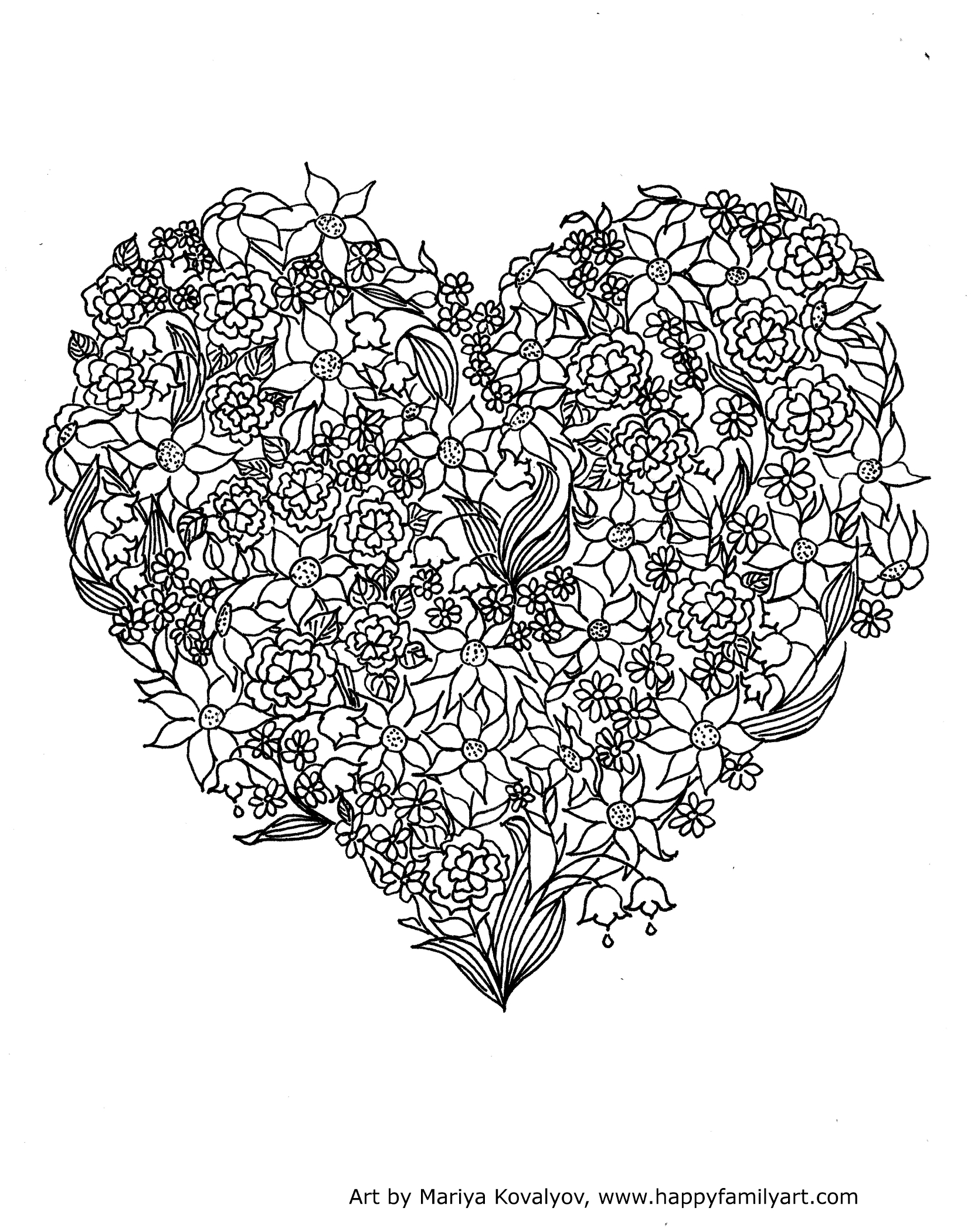 Printable Valentine S Day Coloring Pages