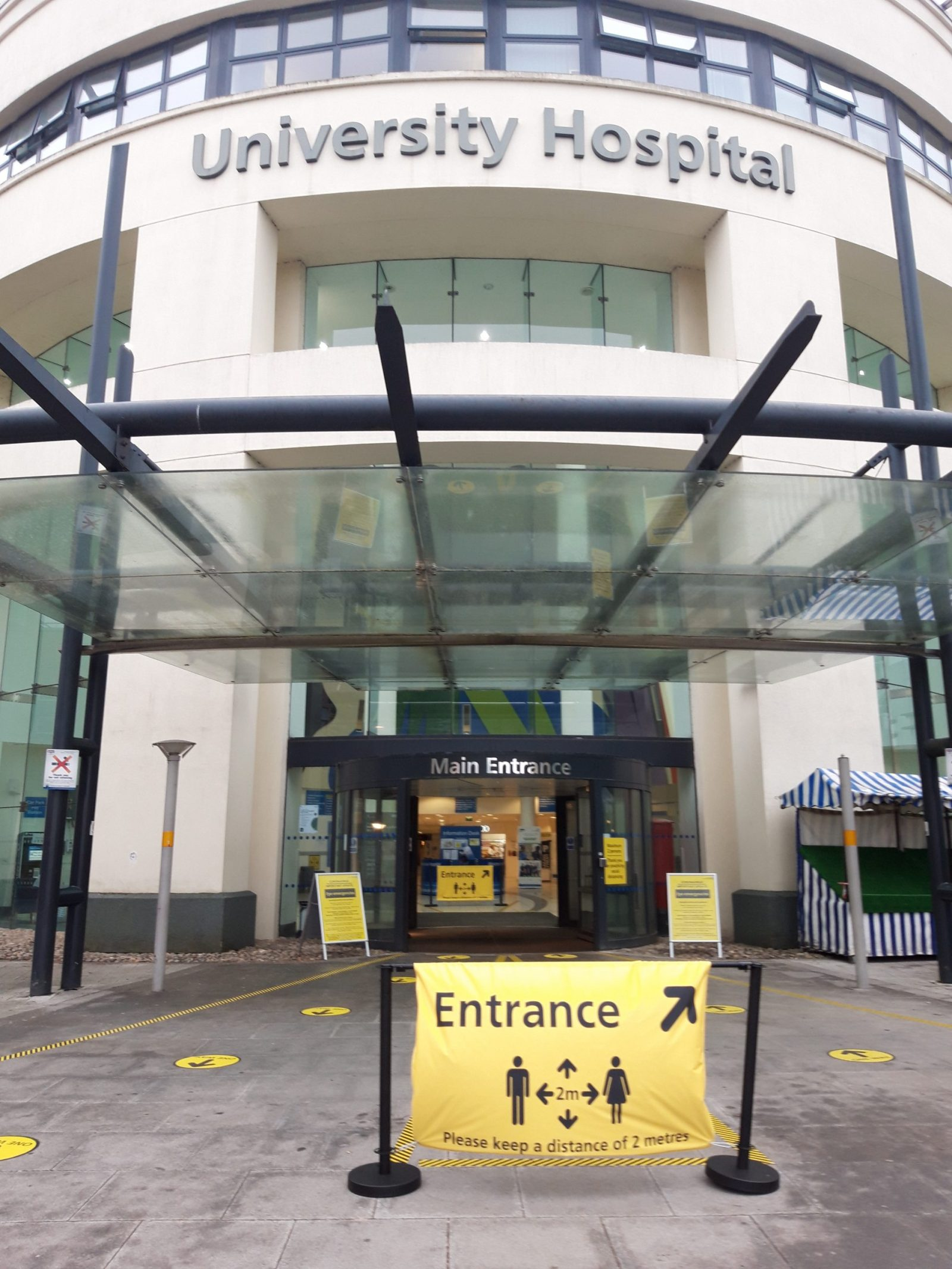 University Hospital Coventry Main Entrance