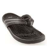 kenkoh massage sandal black spirit reflexology