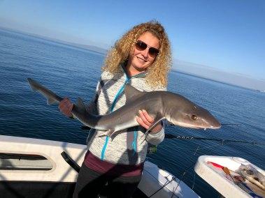 Happy Fisherman Mud Island School Shark
