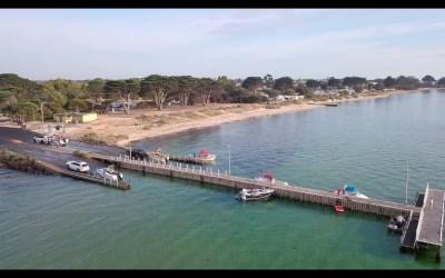 St Leonards Boat Ramp – Drone Footage