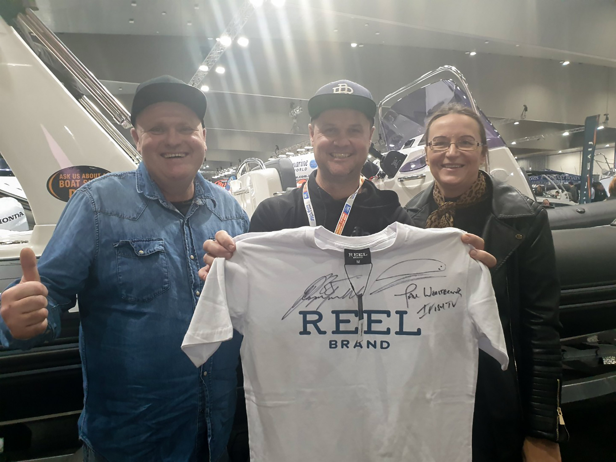 e6c3f7c0 2019 June 14th Melbourne Boat Show | Welcome To Happy Fisherman