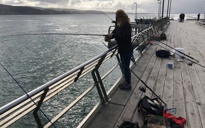 Video – Fishing Lorne Pier – July 3rd 2019