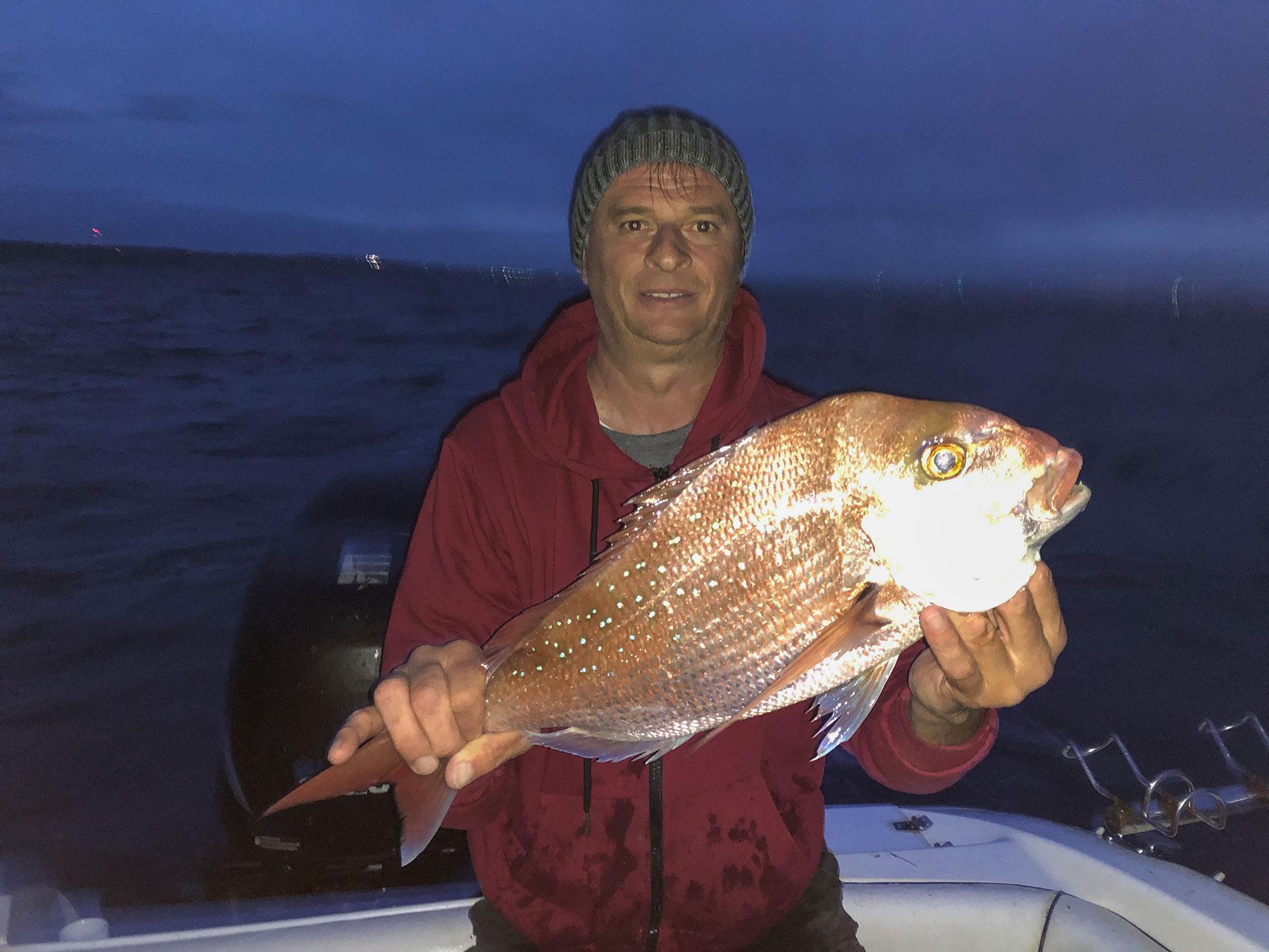 happy fisherman fishing portarlington