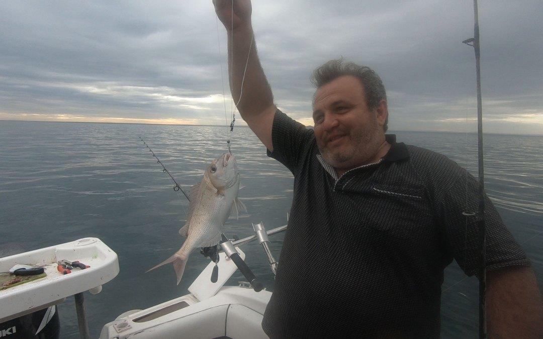 2020 March 18th – fishing at Portarlington