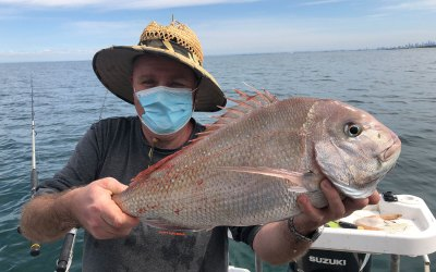 2020 Oct 23rd – Fishing Port Phillip Bay