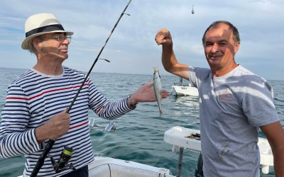 2021 April 8th – fishing St Leonards with Lindsay Field