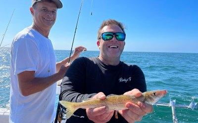 Fishing With Brett Reeds