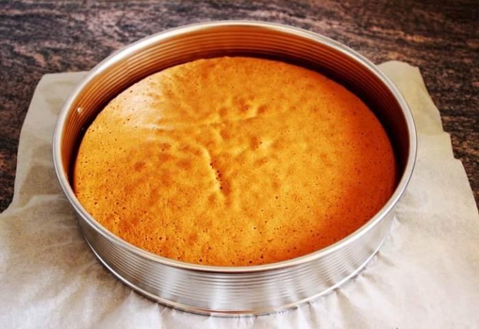 Basic Sponge Cake Base Recipe Video Happy Foods Tube