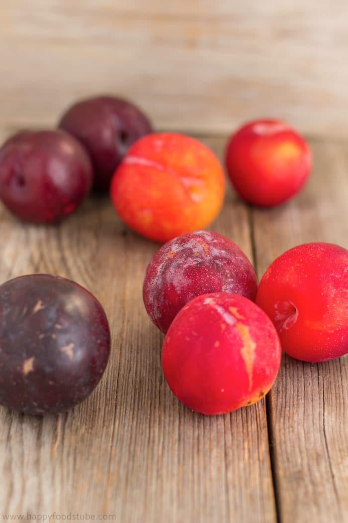 Fresh Plums for Homemade Jam   happyfoodstube.com