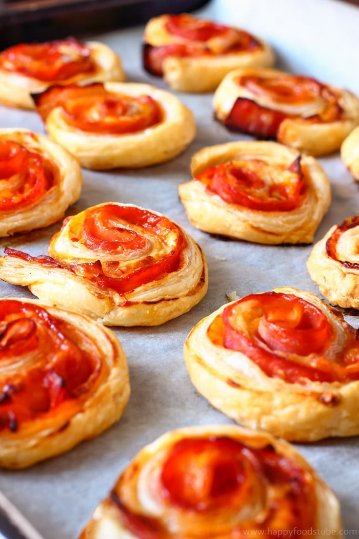 Bacon Pinwheels with Cheddar Image