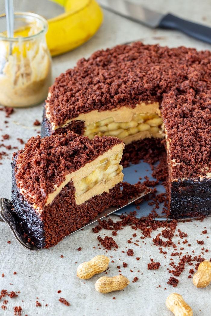 Easy Banana Cake Recipe Scratch