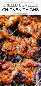 Grilled Boneless Chicken Thighs Recipe