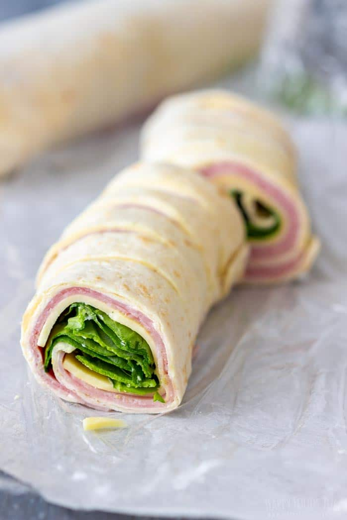 How to make Ham and Cheese Pinwheels Step 5