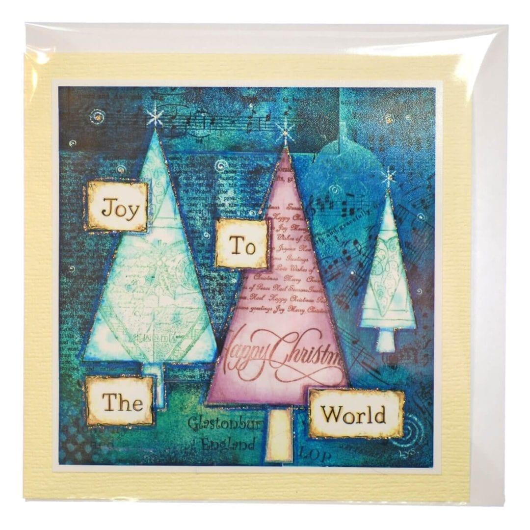 Joy To The World Card Happy Glastonbury