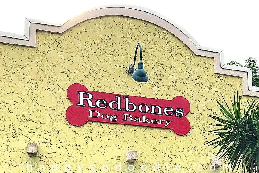 photo of redbones dog bakery a fun thing to do in amelia island with your dog