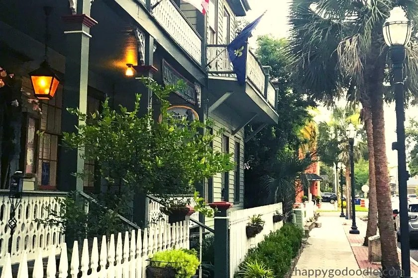 photo of historic area of fernandina beach