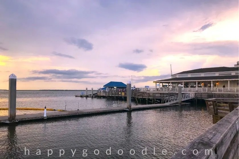 sunset and brett's waterway cafe as a fun thing to do in amelia island