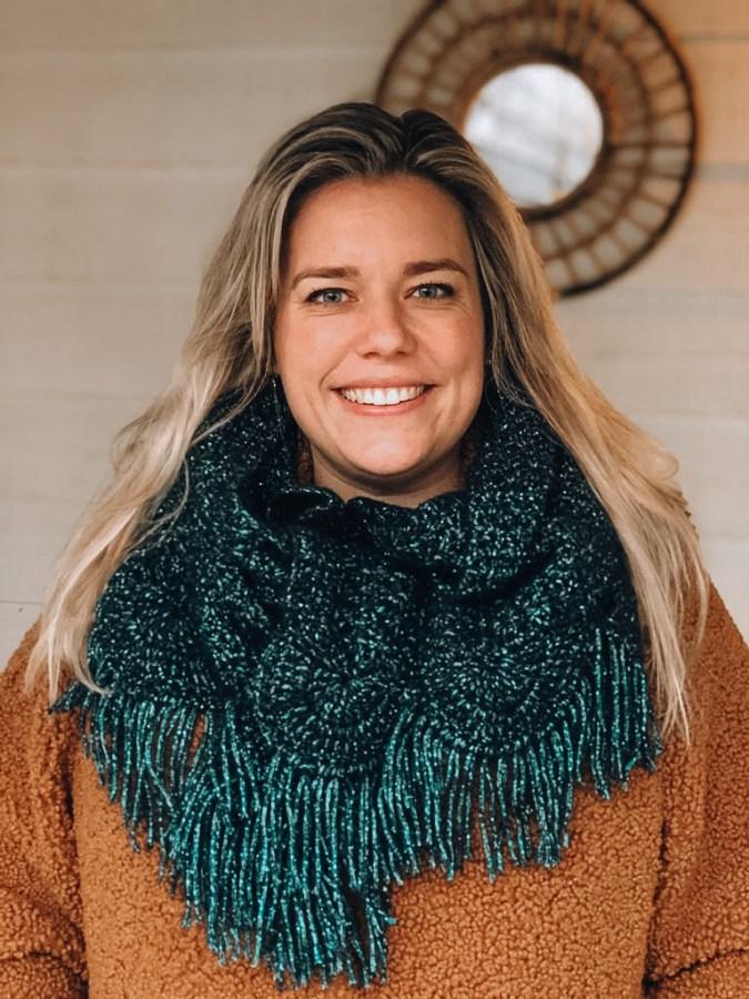 Party shawl haken