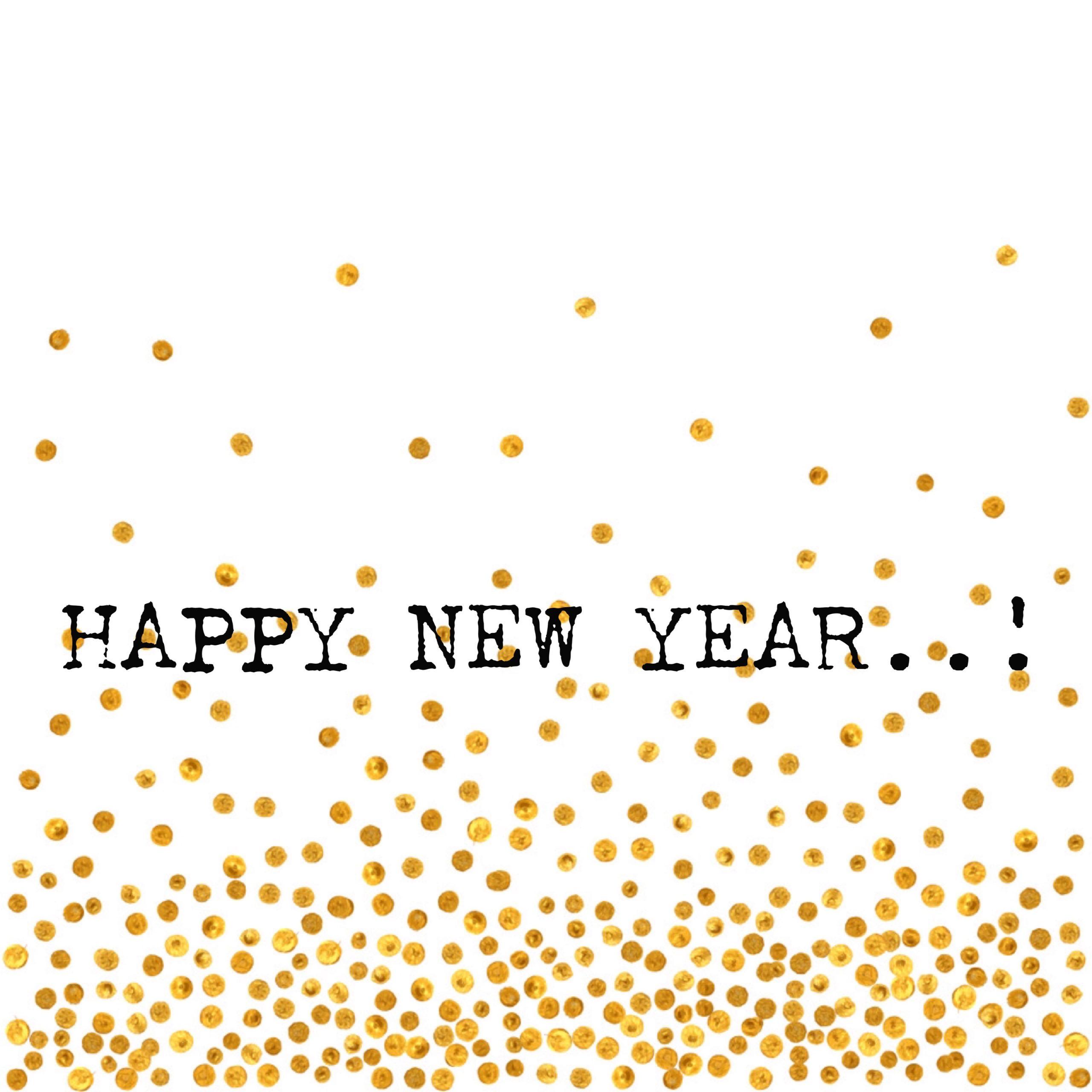 HAPPY NEW YEAR..!