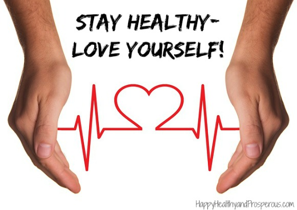 Stay Healthy—Love Yourself! Try this exercise to show yourself some love...