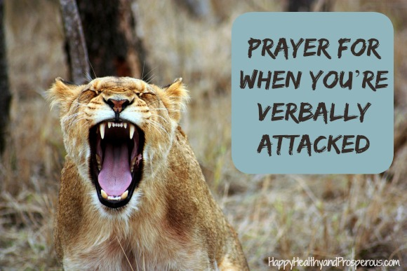 Prayer for When You're Verbally Attacked