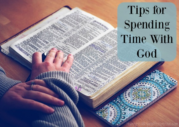 Tips for spending time with God