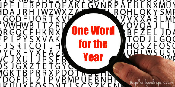 One Word for the Year