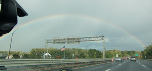 Rainbow in Springfield, MA