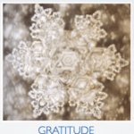 Gratitude as ice crystals