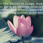The Art of Judgement
