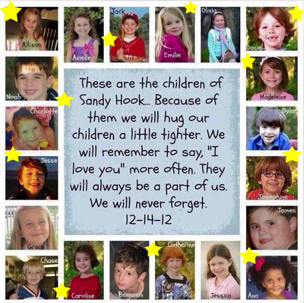 Sandy Hook Children - Shooting Stars