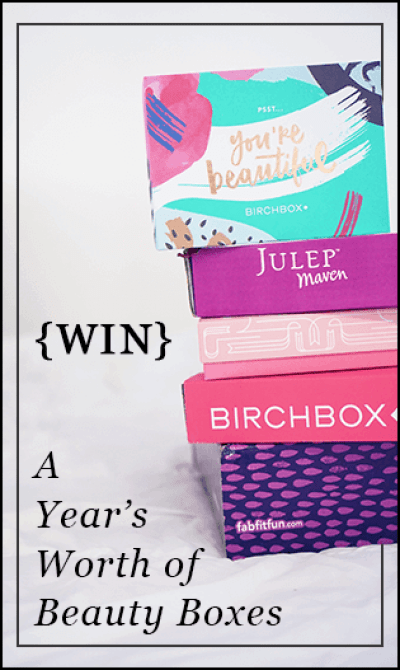 Beauty Box Sweepstakes