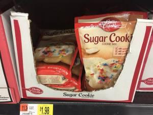 Easy Snowflake Sugar Cookies #BakeWithBetty