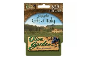 $25 Olive Garden Gift Card #Giveaway