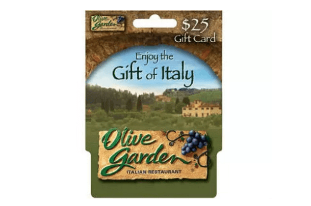 $25 Olive Garden Gift Card #Giveaway