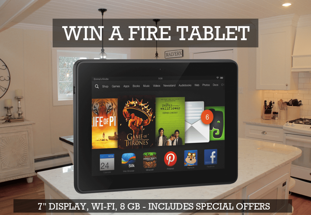 EXECUTIVEBR - FIRE TABLET #SWEEPSTAKES