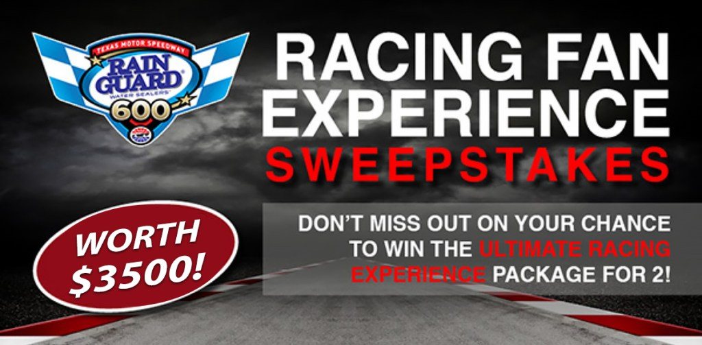Ultimate Racing Fan Experience Sweepstakes for Two Sweepstakes