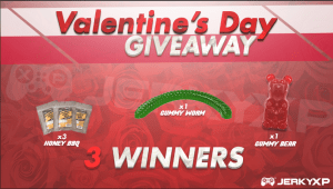 World's Largest Gummy Worm, Gummy Bear, and Jerky Valentine's #Giveaway