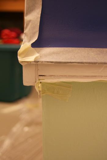 hhchen renovierung dach streichen happyhomeblog. Black Bedroom Furniture Sets. Home Design Ideas