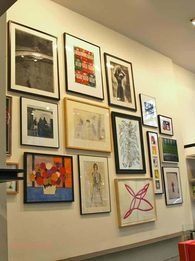 happy walls i gallery walls oder viele bilder f llen die. Black Bedroom Furniture Sets. Home Design Ideas