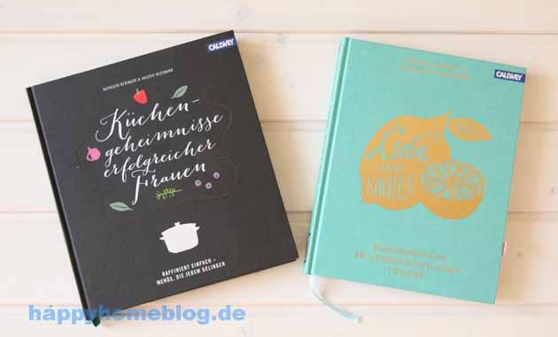 Rezension von Aus Liebe zum Kochen von Yvonne Niewerth und Charlotte Schreiber und Küchengeheimnisse erfolgreicher Frauen von Kathleen Beringet und Valerie Wizemann