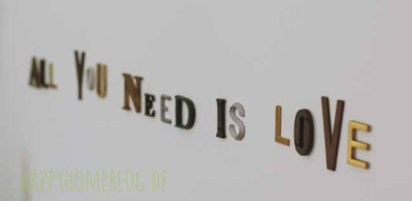 all you need is love vintage wall tattoo von freundts by happyhomeblog.de