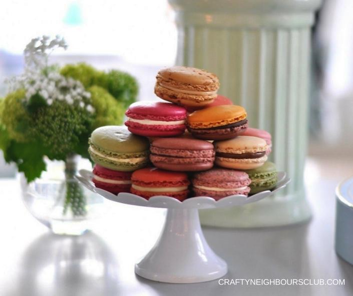Macaronpyramide Macarons von duSucre im Happyhomeblog.de