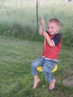 My grandson Isaac